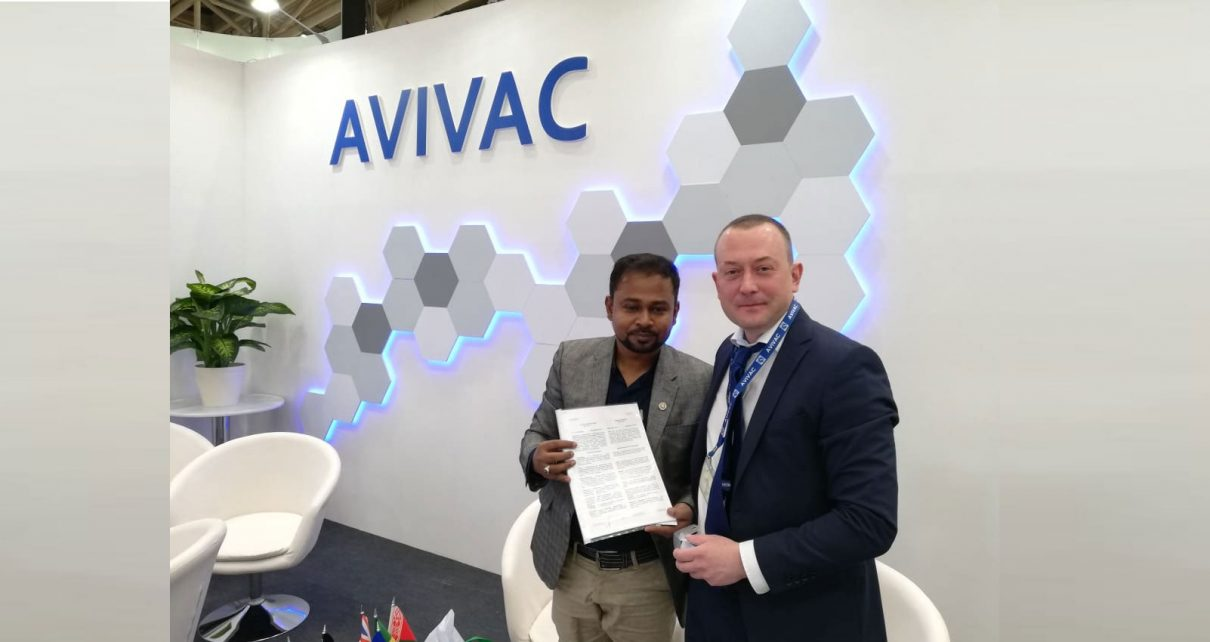 Contract signing with Russian principal