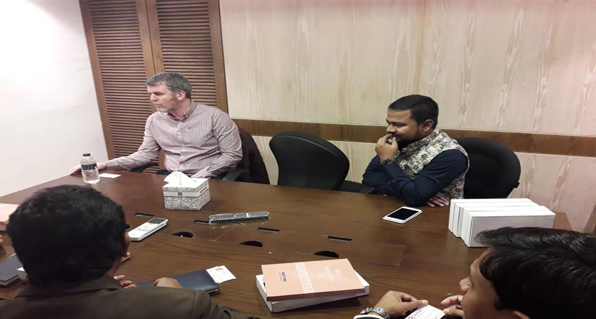 Meeting at square pharmaceutical with Ireland principal